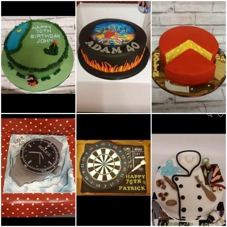 Cakes for men