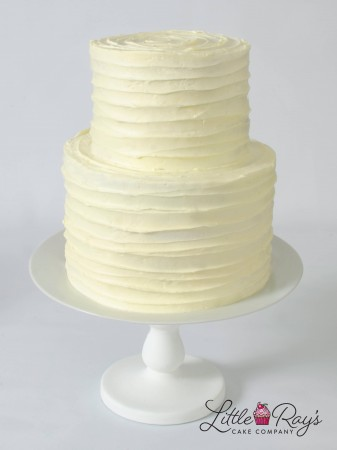 2 Tier Buttercream Swirl Cake