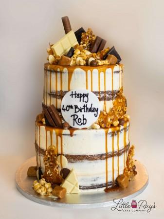 Caramel Lover's Drippy Cake