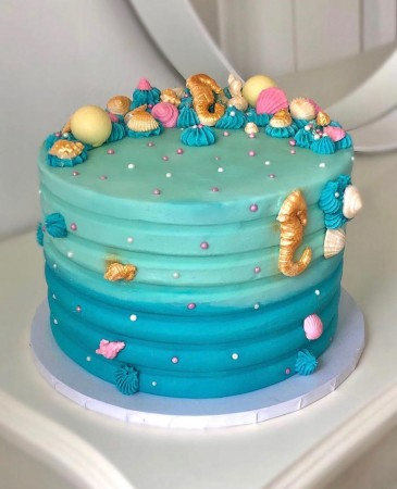 Ocean Cake - El's Cakery