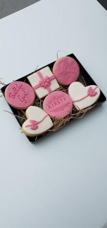 *Postal present biscuits
