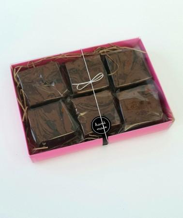 *Postal Salted Caramel Brownies