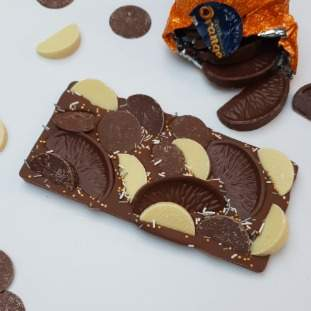 69.*Postal luxury loaded Chocolate Orange Bar