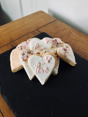 Iced heart biscuits *POSTED*