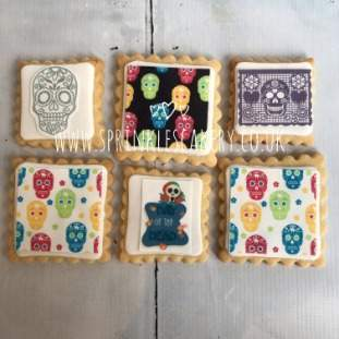 ***Postal*** Day of the Dead Biscuit Box