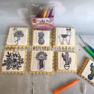 ***Postal*** Colour Your Own Mindfulness Biscuit Box