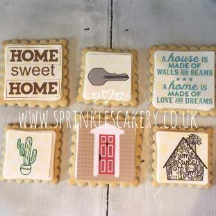 ***Postal*** New Home Biscuit Box