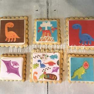 ***Postal*** Dinosaur Biscuit Box