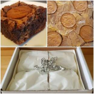 Chocolate & Biscoff Brownies  *posted*