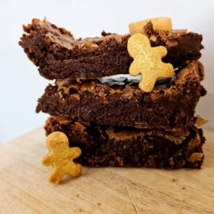Gluten free gingerbread brownies *posted*
