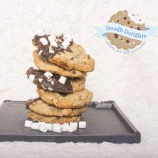 Dipped S'mores cookies - *posted*