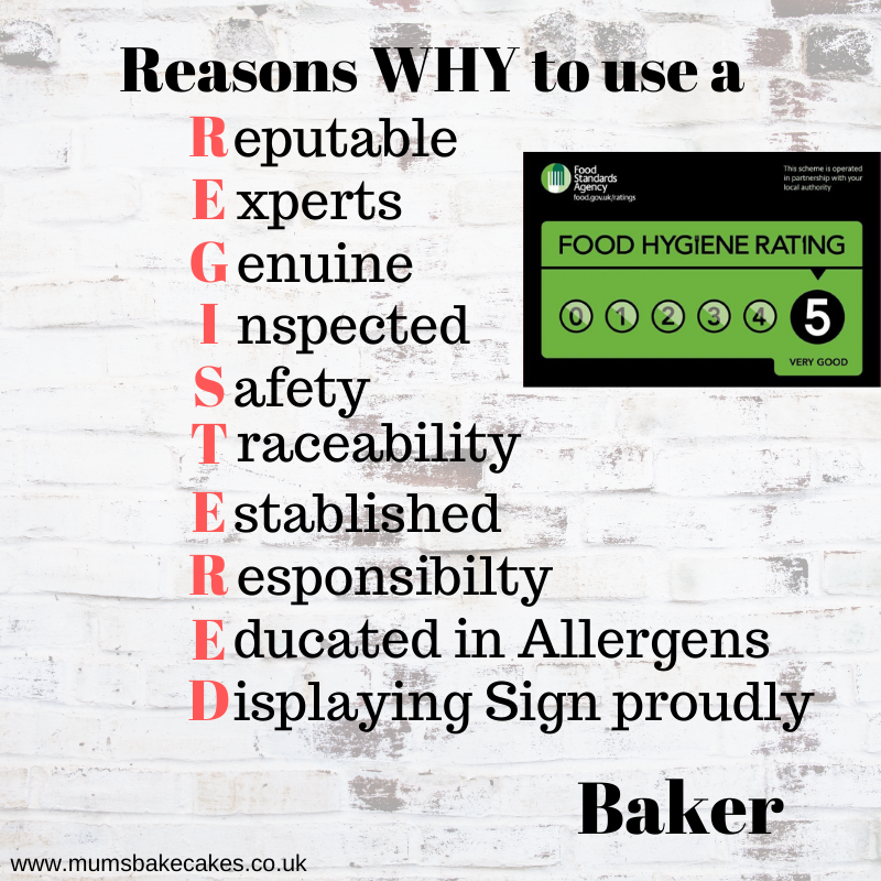 registered baker