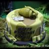 fortnite army game birthday cake