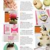 Brides magazine article shwoing Mums Bake Cakes wedding cakes