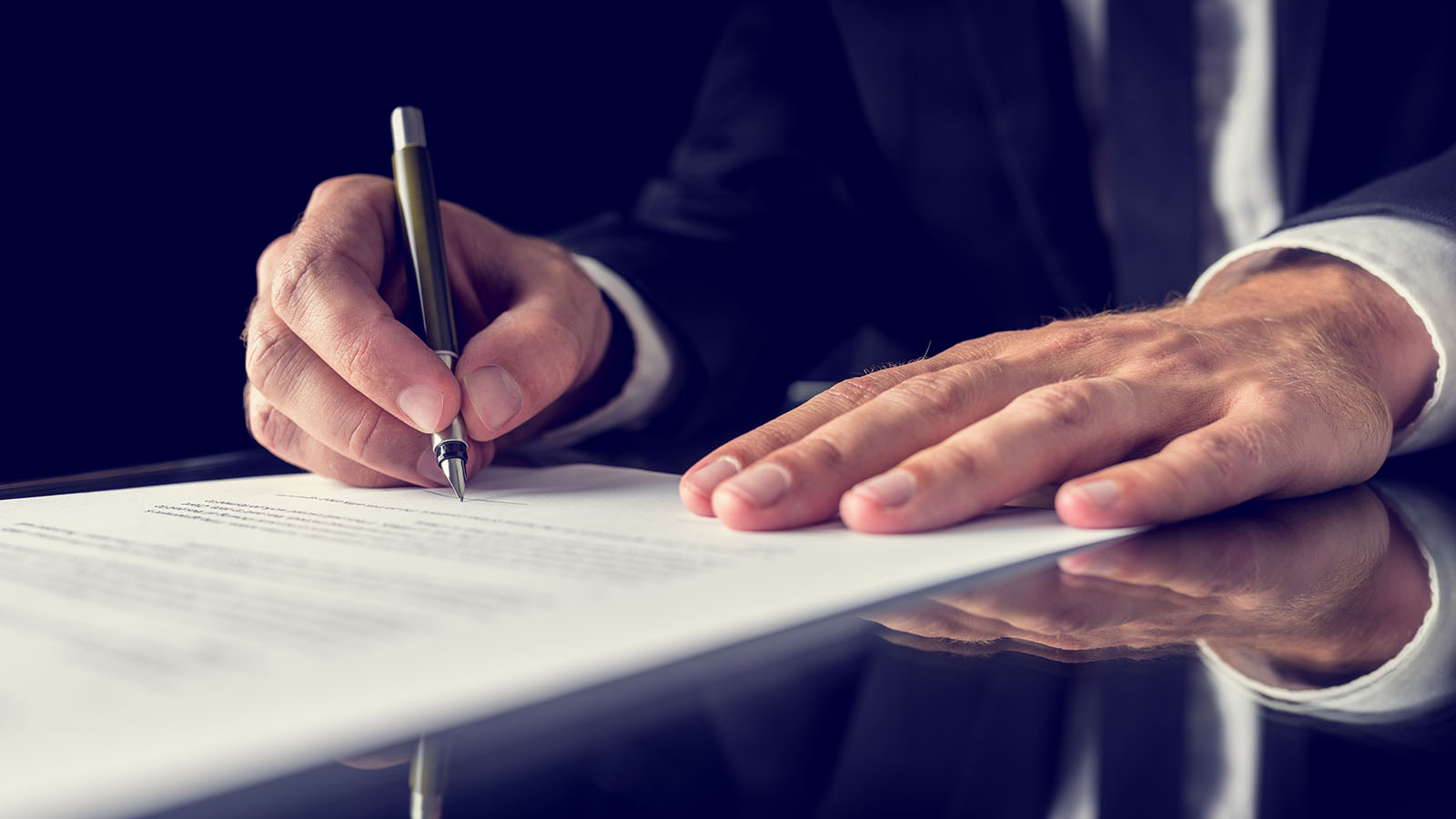 Crossing and dotting makes for clear contracts