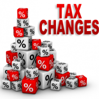 Be alert to tax changes!