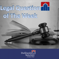 Coming Soon Legal Question of The Week