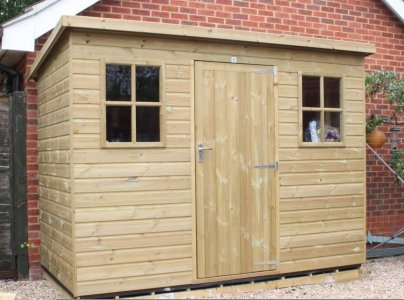 Berkshire Pent Pressure Treated Garden Shed