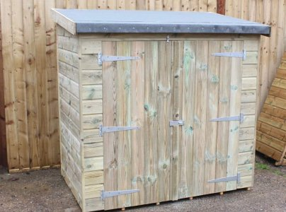 Reverse Worthing Mini Shed
