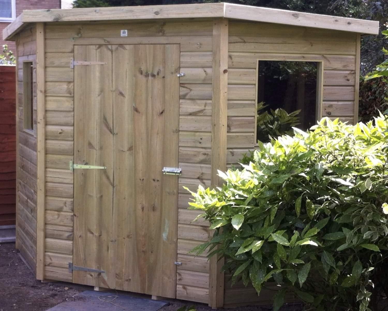 Eastbourne Corner Garden Shed