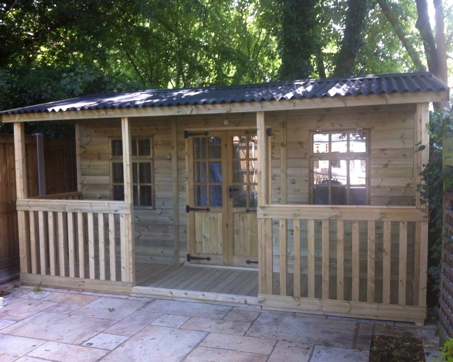The Medway Summerhouse With Verrandah
