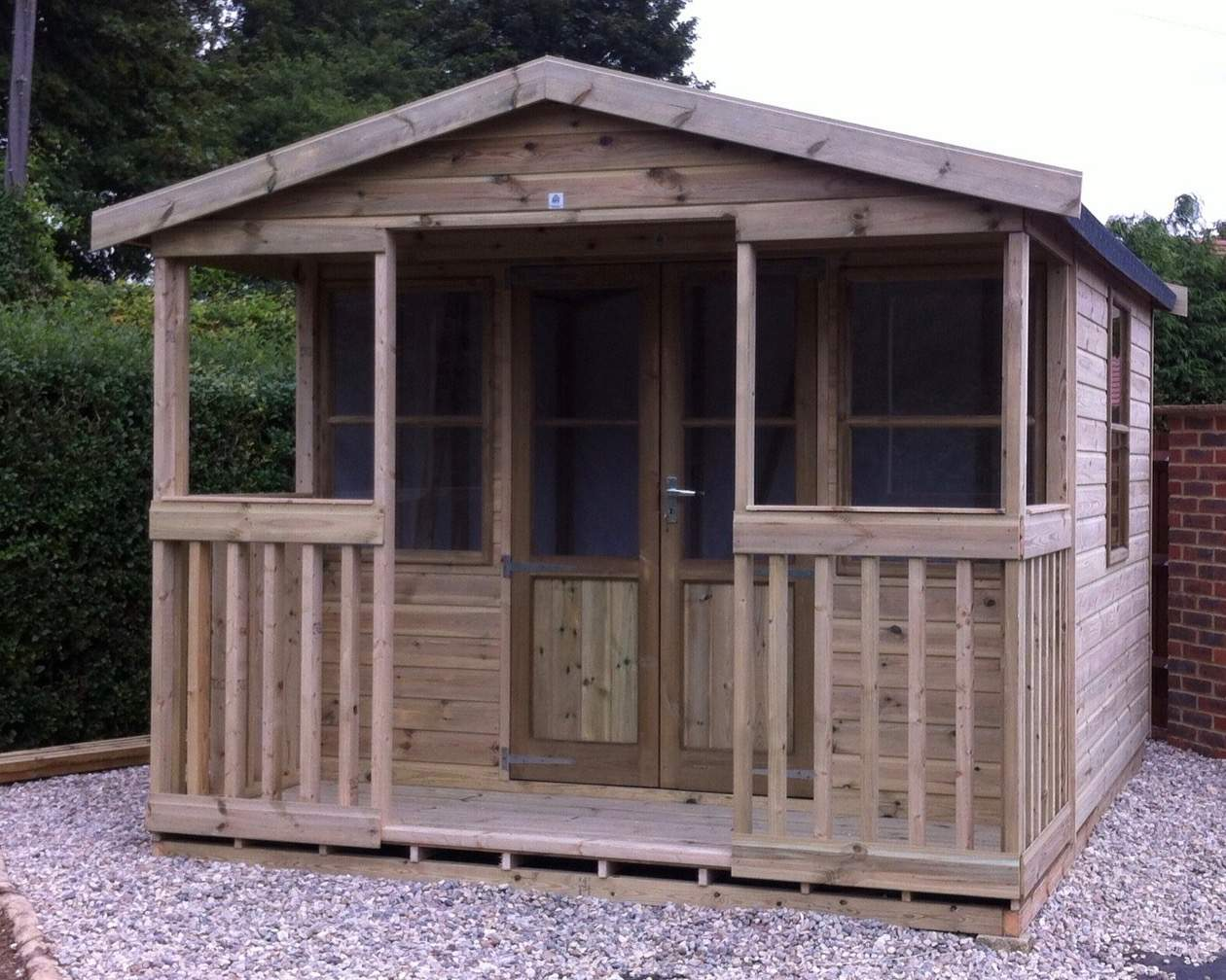 The Tonbridge Chalet Summerhouse