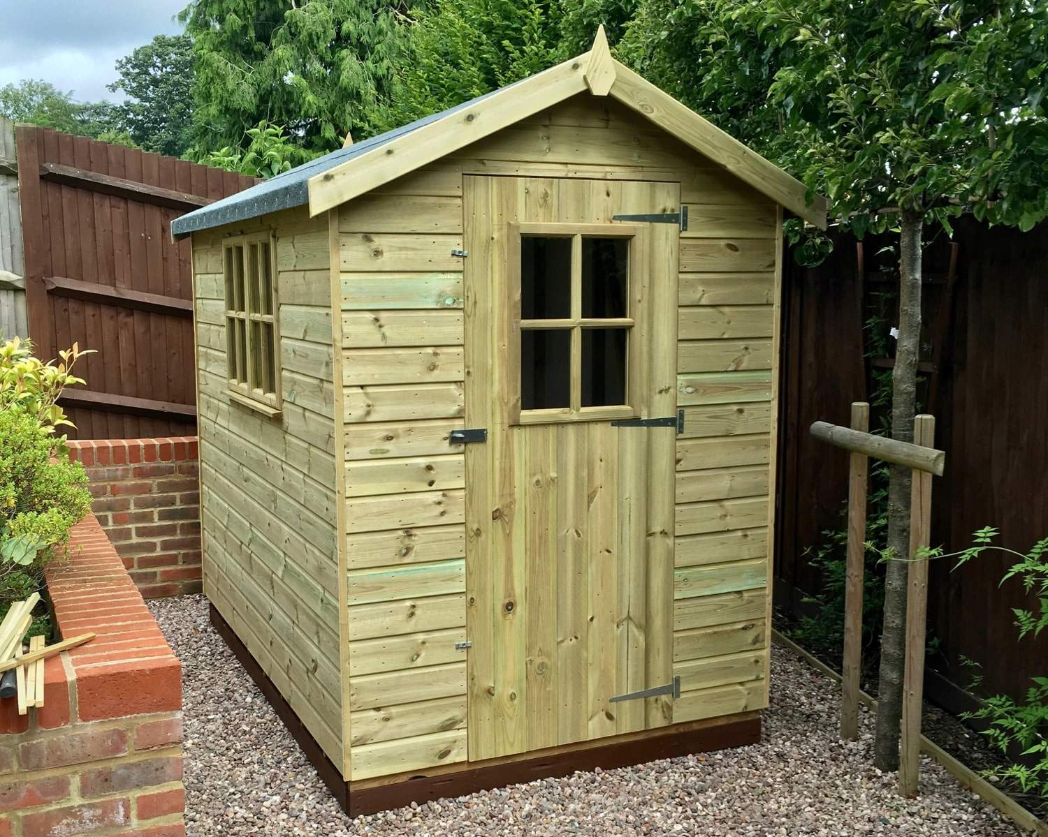 Wood is the perfect material for your shed workshop or summerhouse subtly blending in with its natural surroundings whilst offering unparalleled