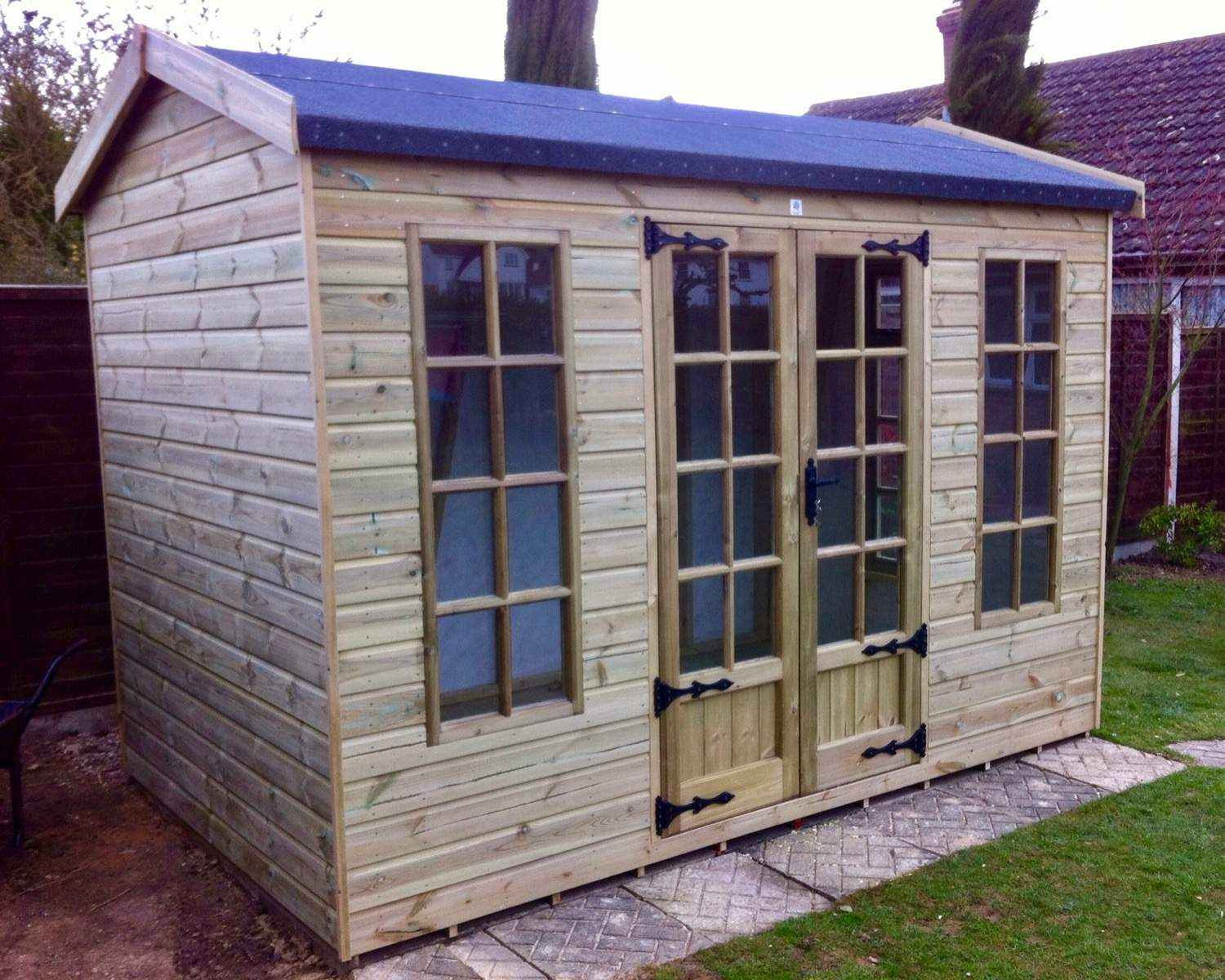 A Shed or Summerhouse Can Make The Ideal Spare Room