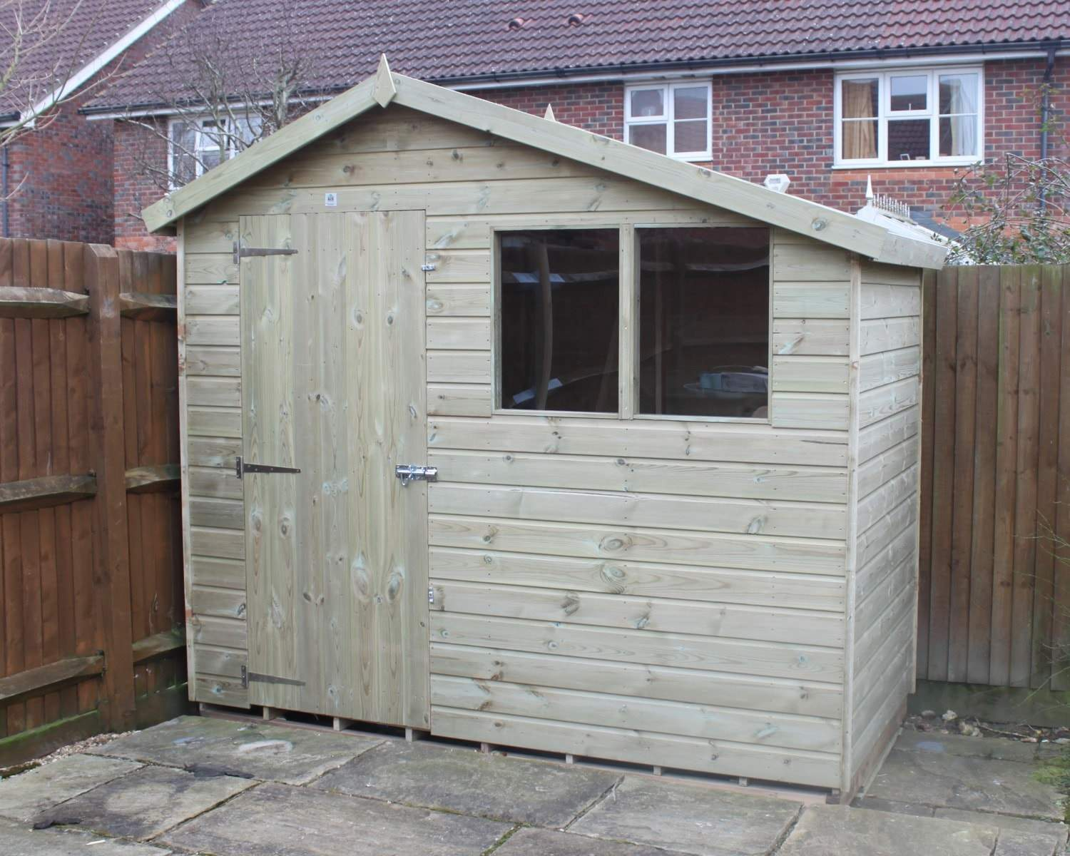 The Cambridge Shed Pressure Treated