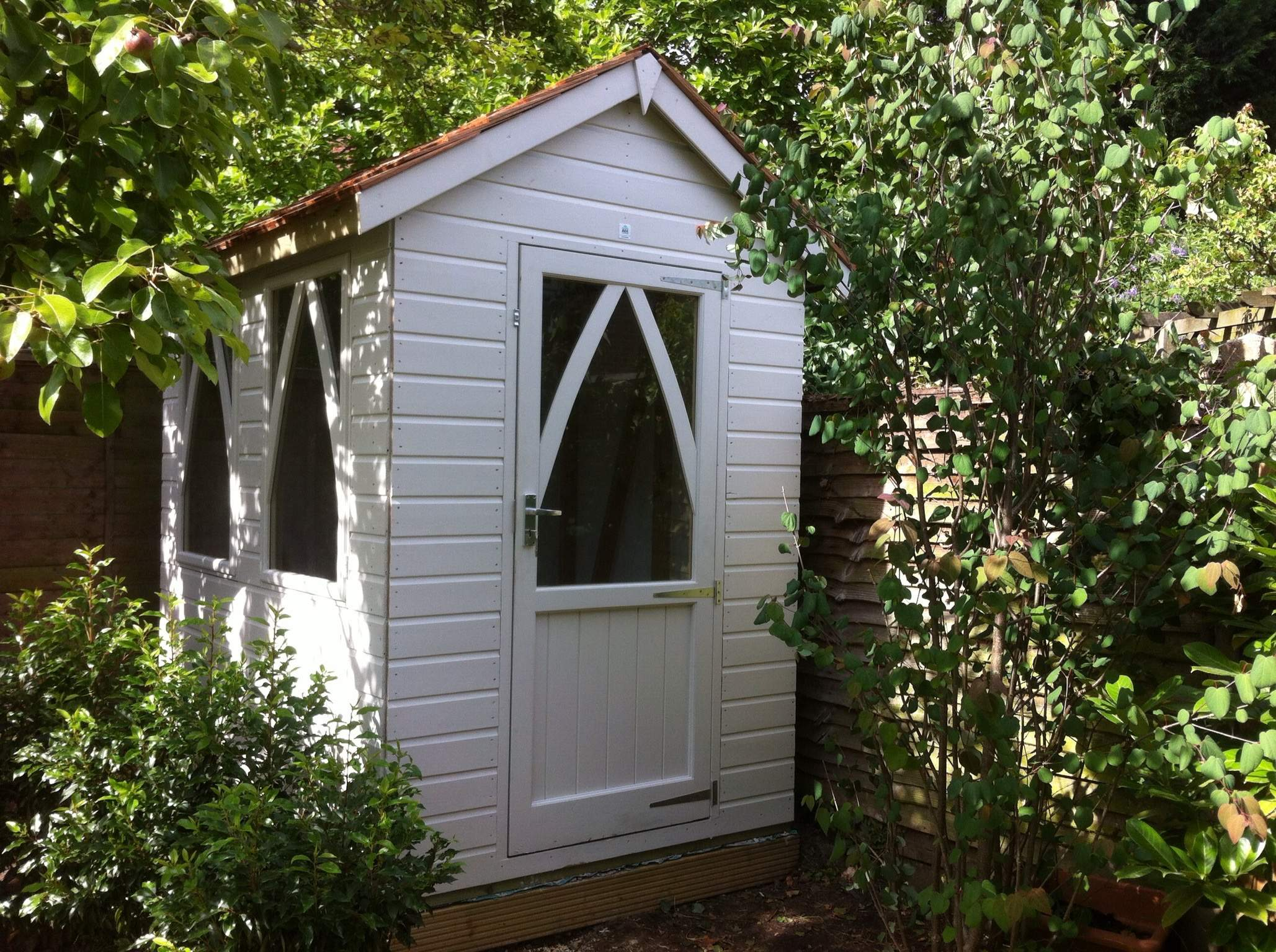Forget about the man cave, it's all about the she shed!