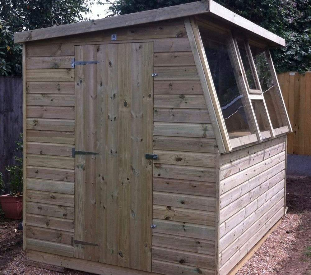 How to pick the right allotment shed