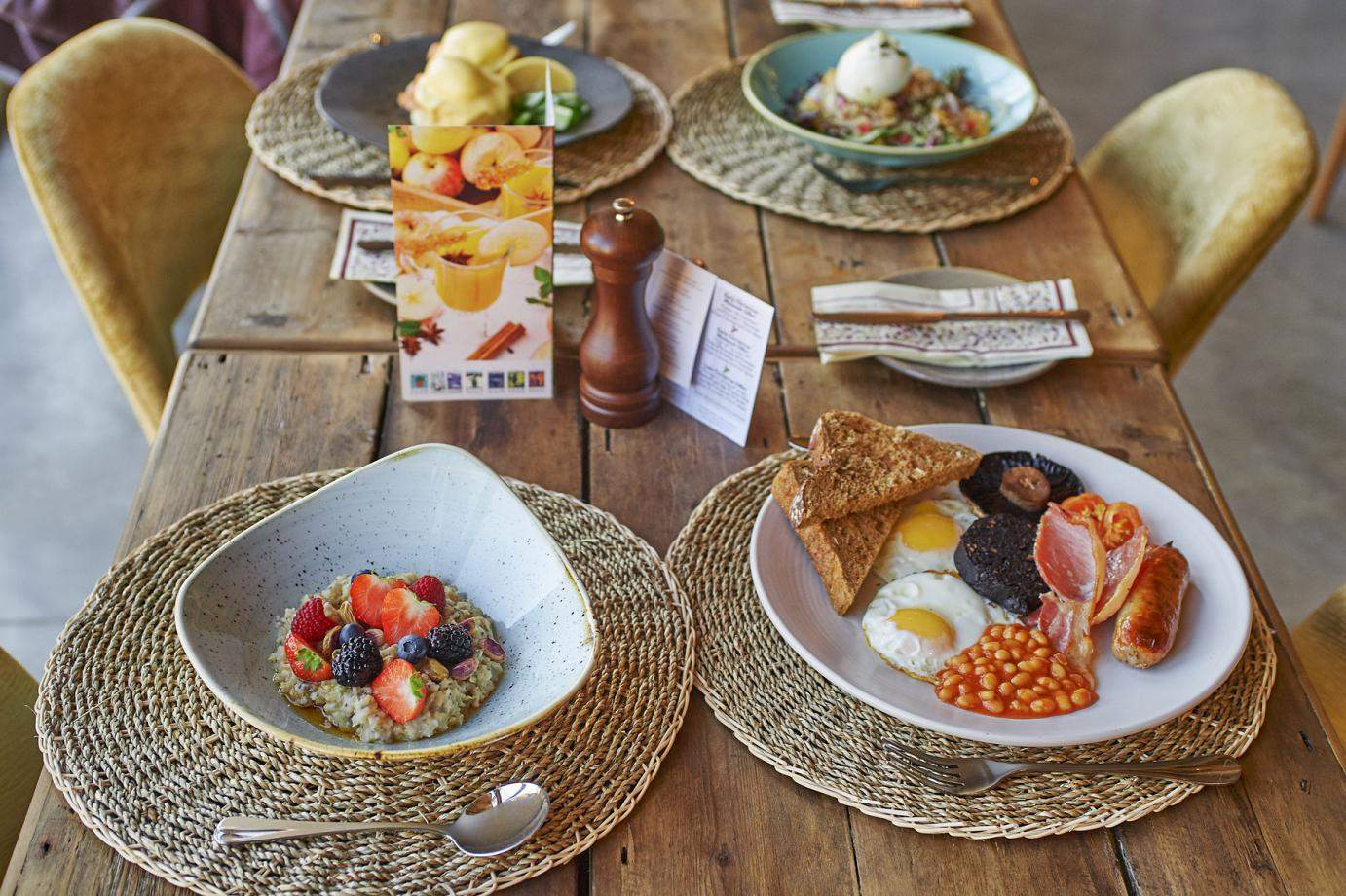 Breakfast at The Potting Shed