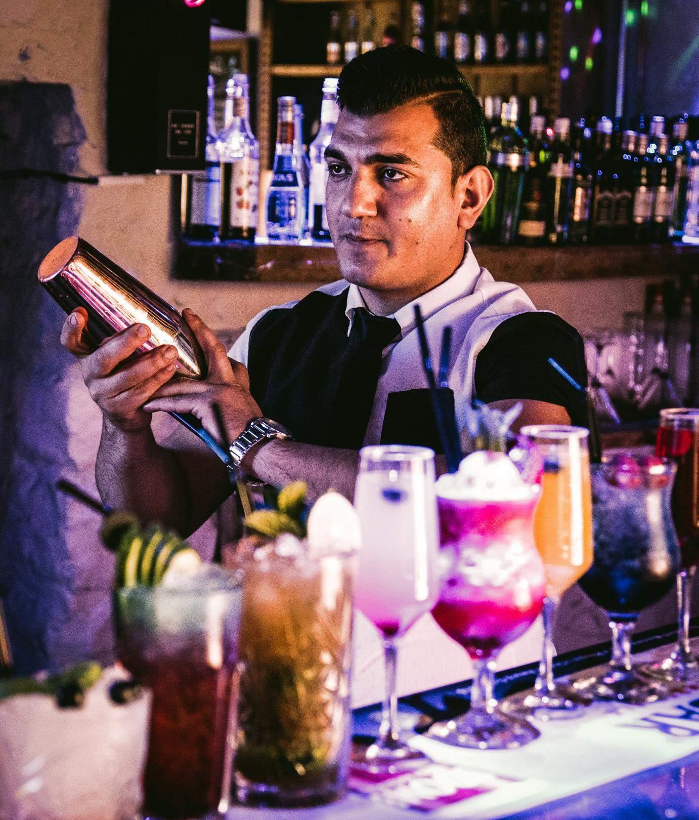 Cocktail Shack Barman