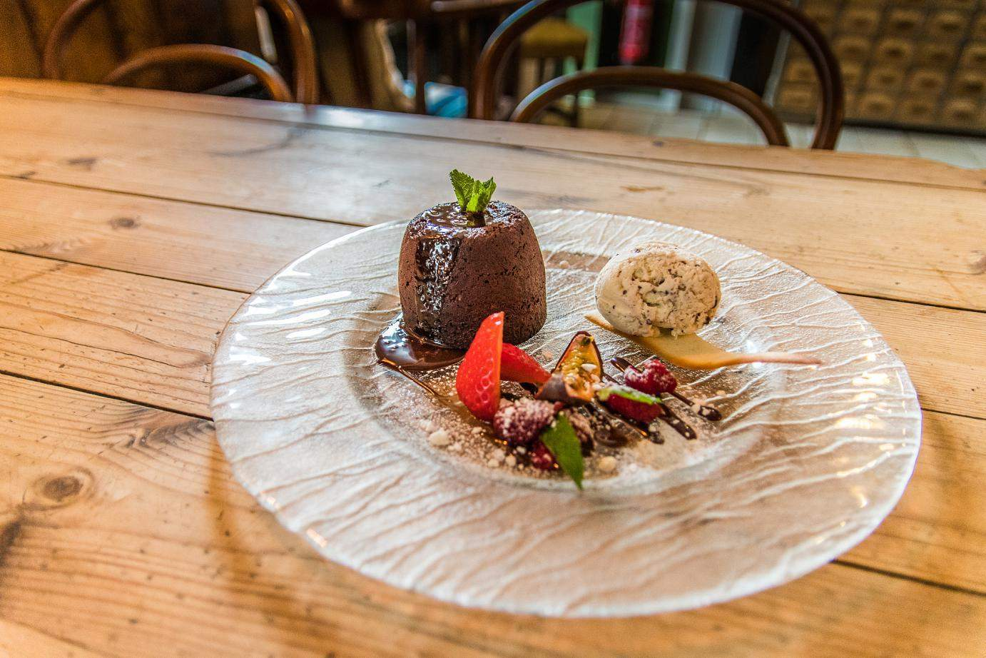 Chocolate desert