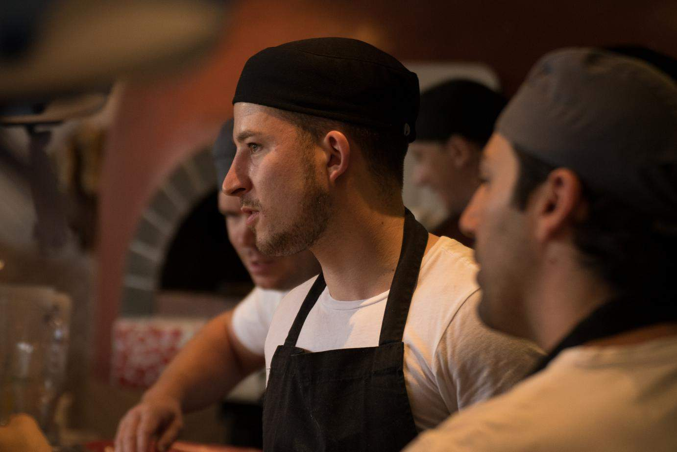 Chefs at The Potting Shed