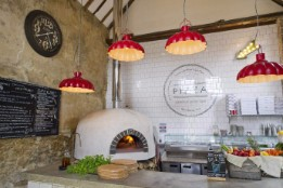The Pizza Shack oven