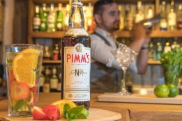 Pimms bottle