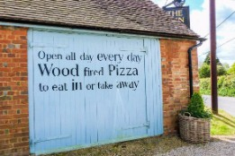 Wood fired pizza shack