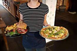 Burge and Pizza