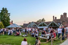 Garden concert at The Potting Shed