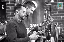 The Potting Shed barman