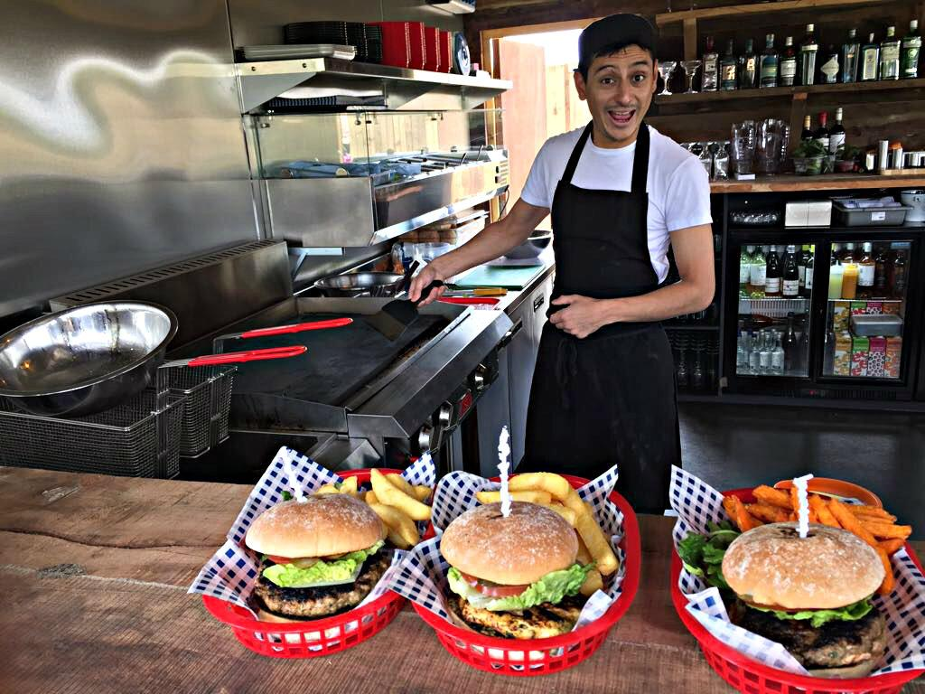 Reopening of The Burger Shack