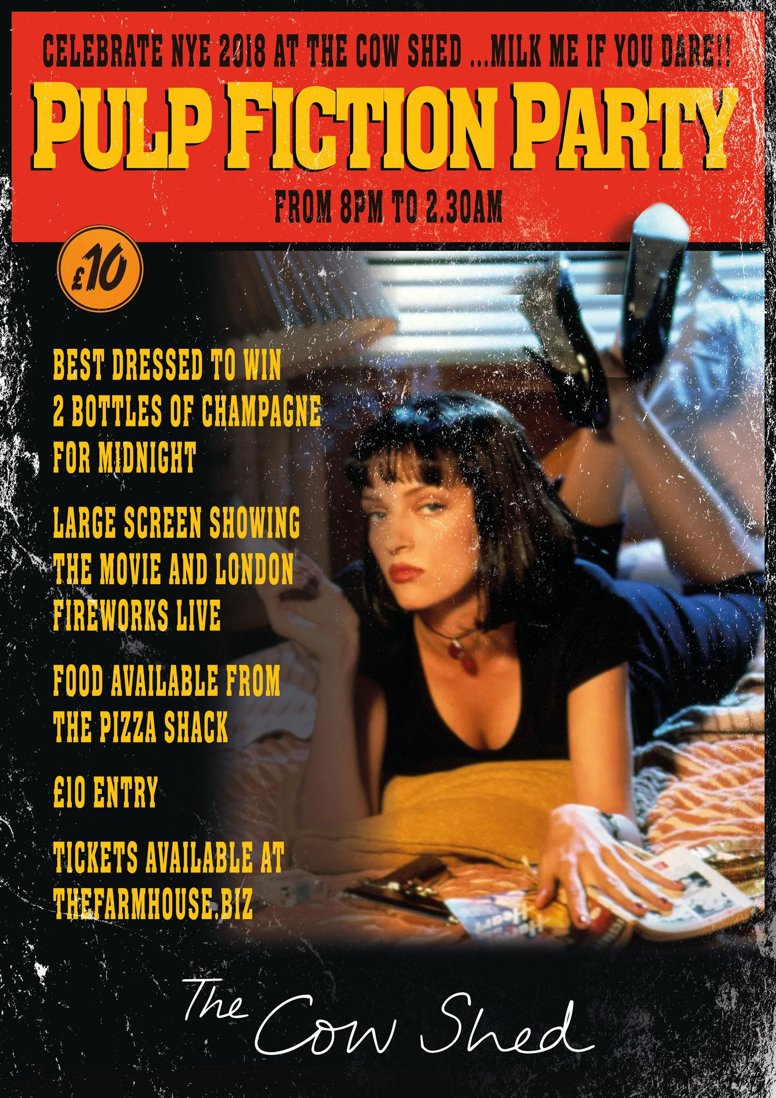 Pulp Fiction party at The Cow Shed