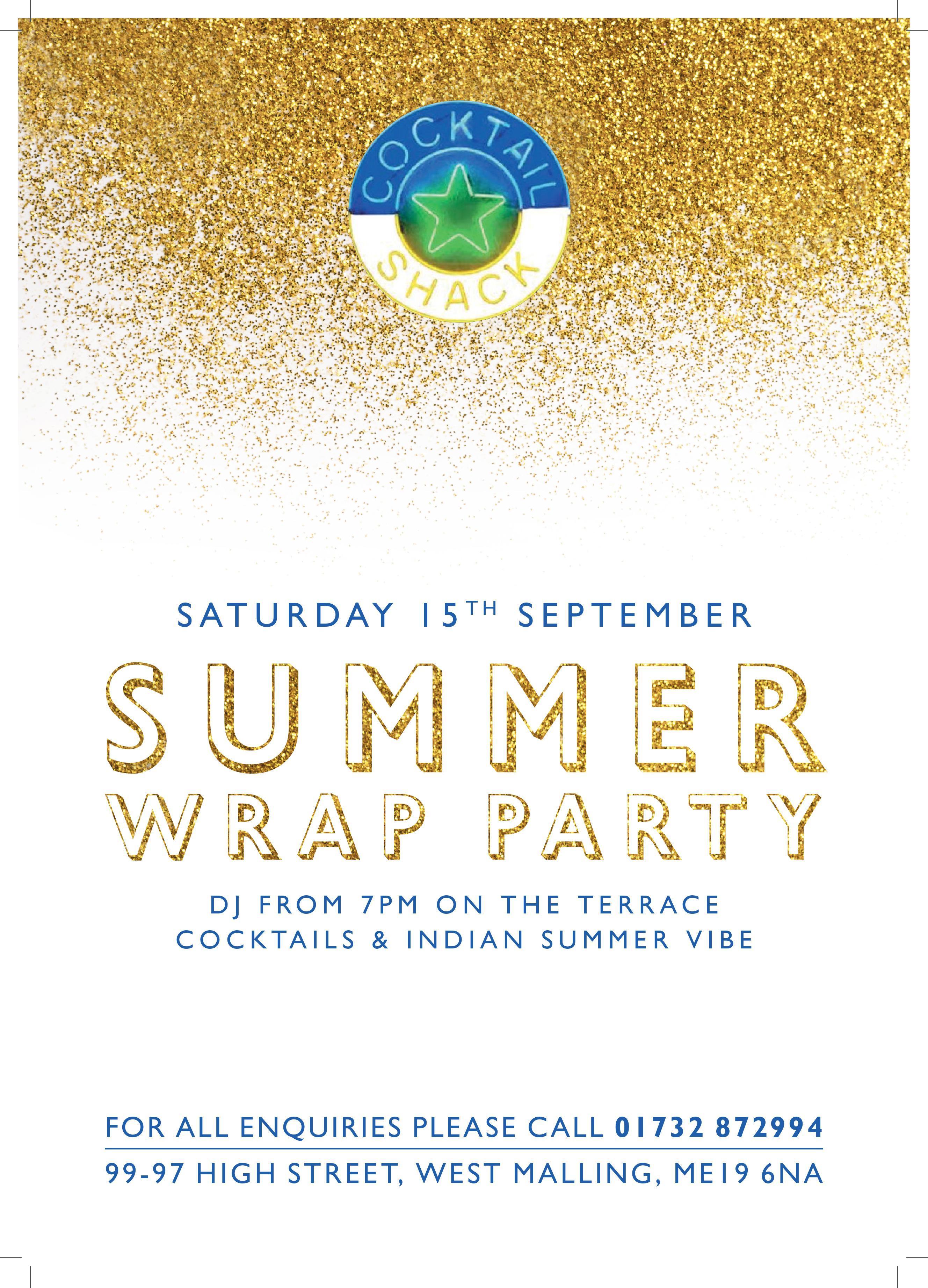Summer Warp party