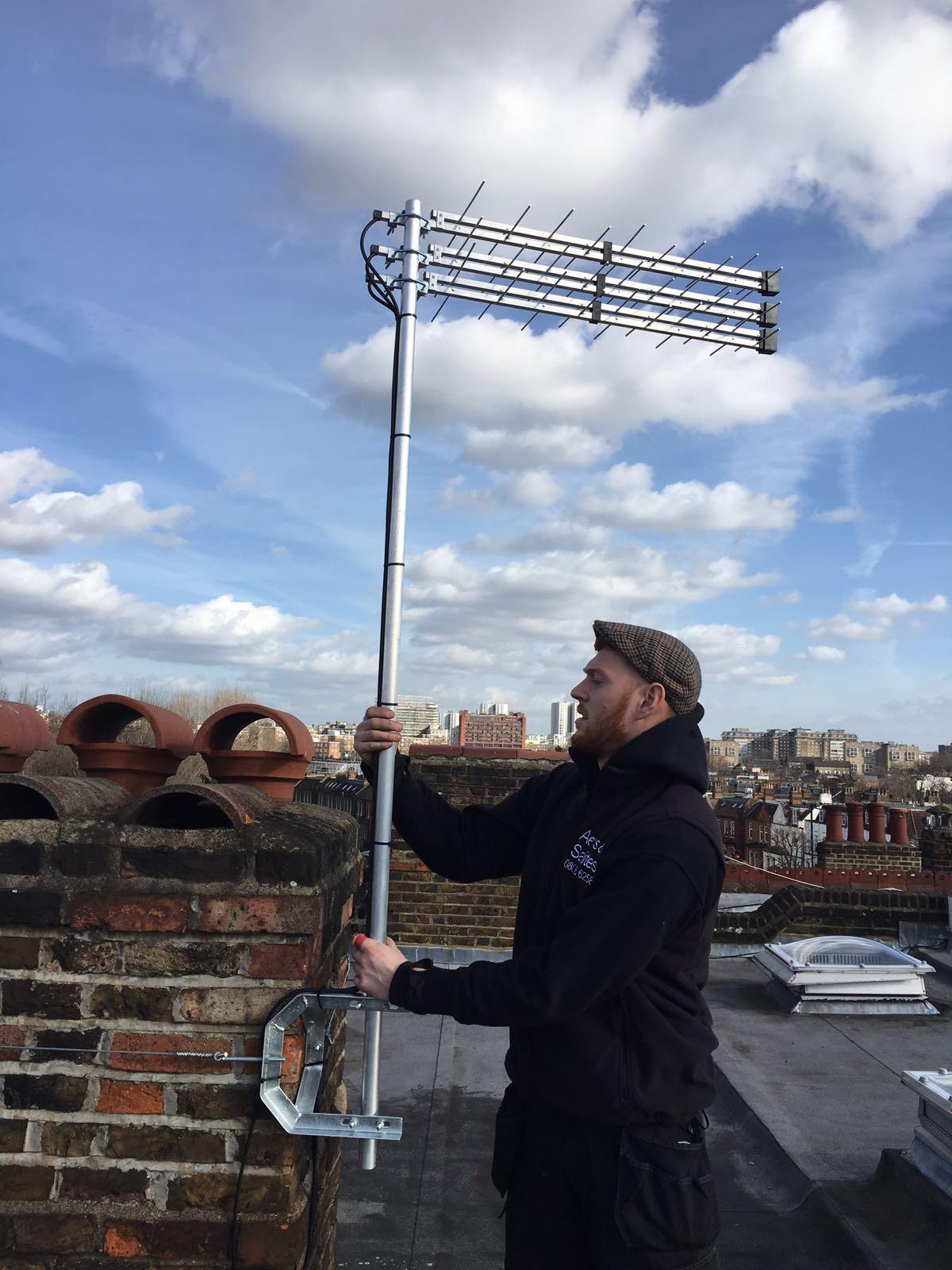 aerial-installation