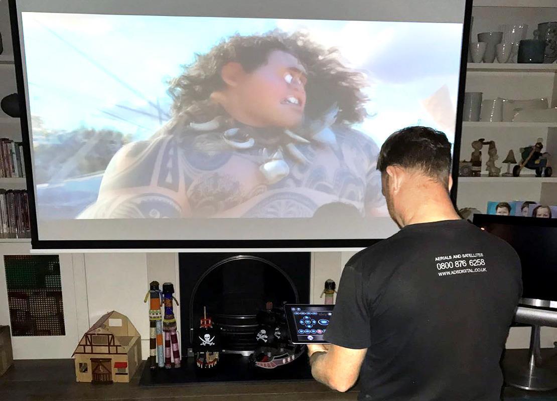 projector-installation